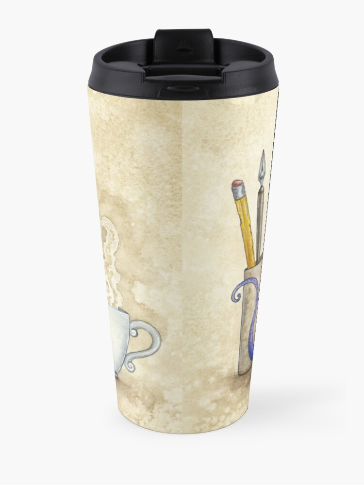 Alternate view of What's In Here? Travel Mug