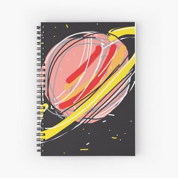 Saturn Spiral Notebook