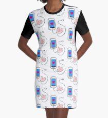 Tech Luv Graphic T-Shirt Dress