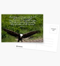 Isaiah 40:31 Postcards