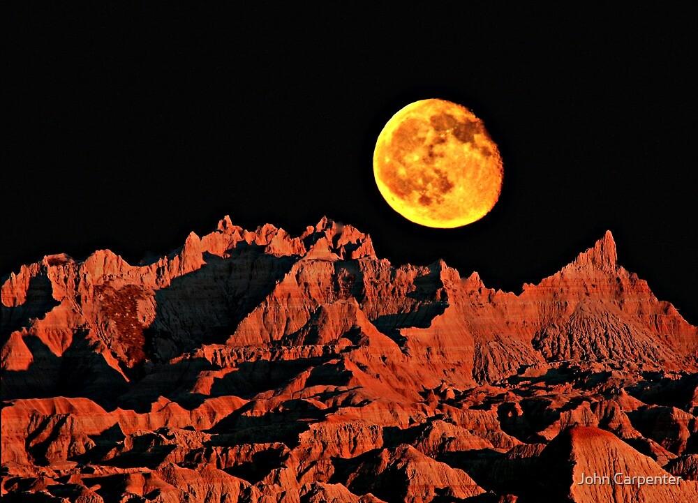 Martian peaks on Earth? by John Carpenter