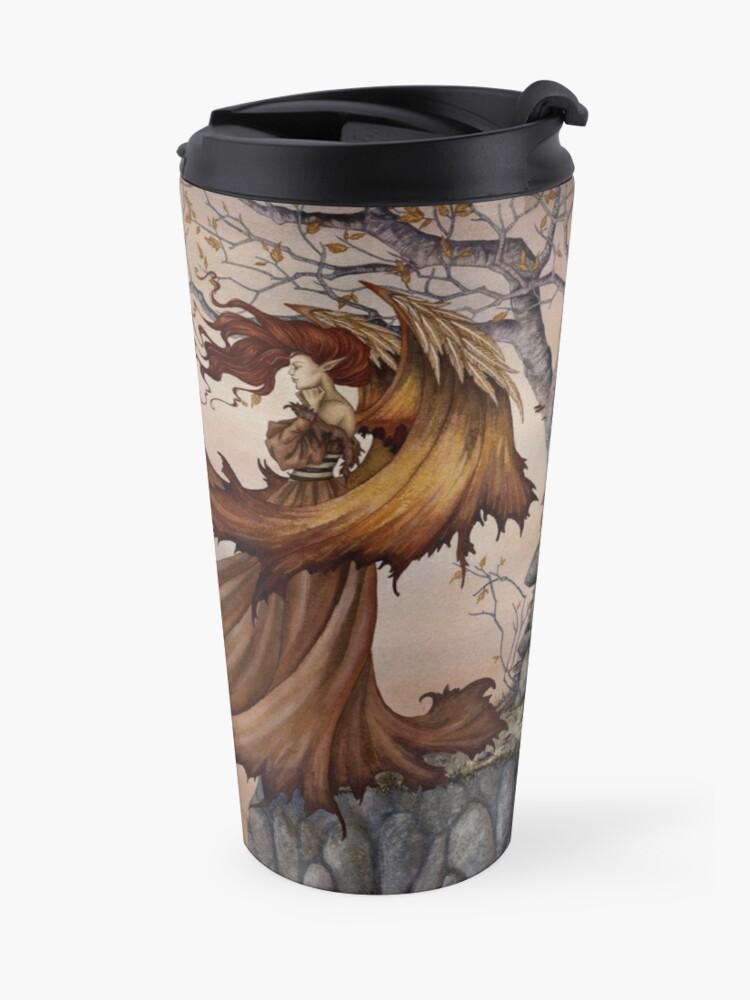Alternate view of Passage to Autumn Travel Mug