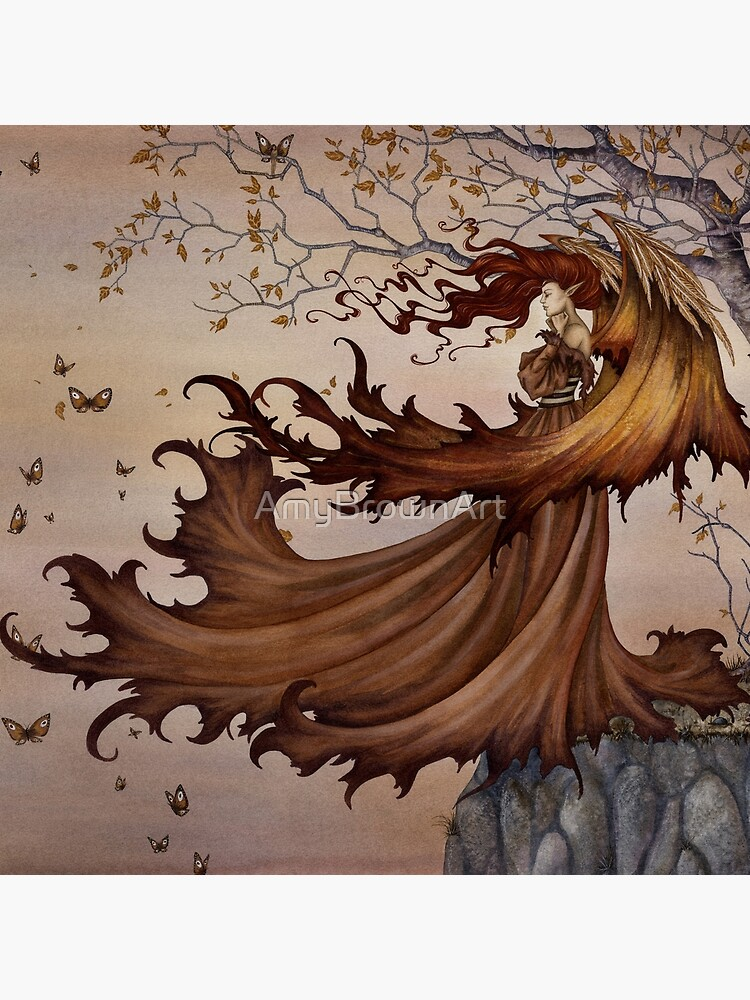 Passage to Autumn by AmyBrownArt