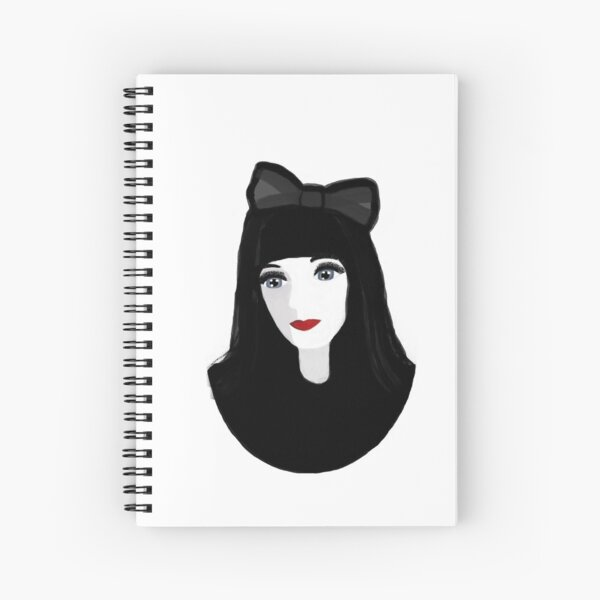 Gothic Lolita Spiral Notebook