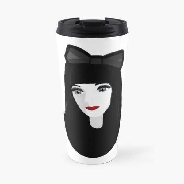 Gothic Lolita Travel Mug