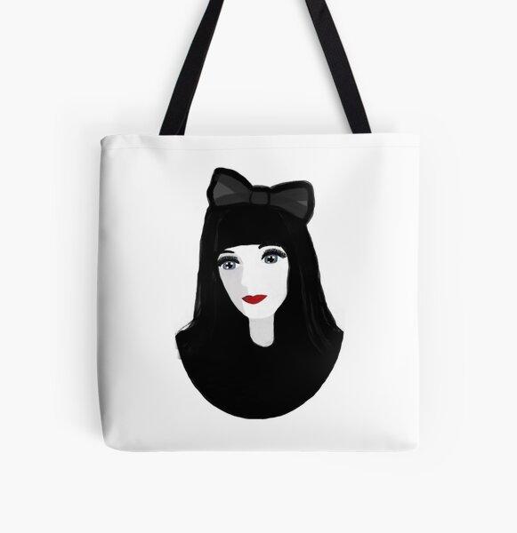 Gothic Lolita All Over Print Tote Bag