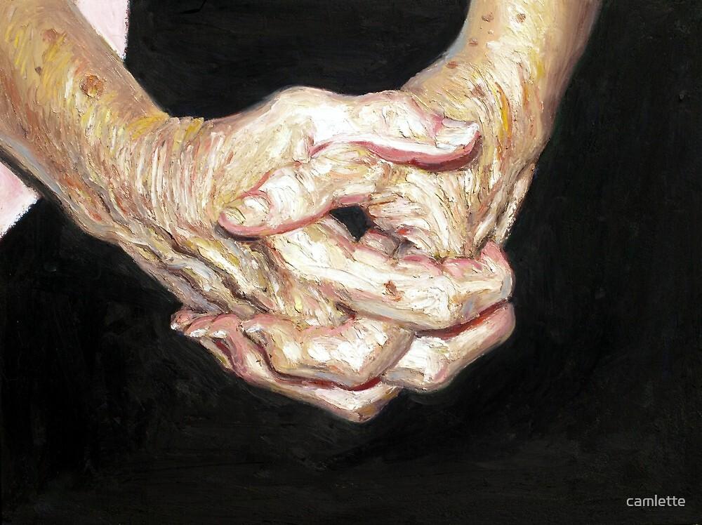 Nannie's Hands by Cameron Hampton