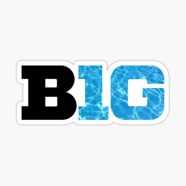 BIG TEN Conference Light Logo  Sticker