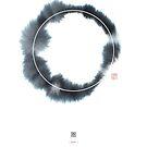 Circle n° 1 (Monochrome Version) by Thoth Adan