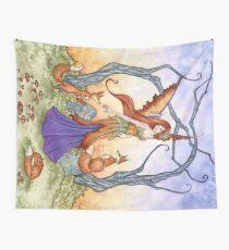 Fox Gathering Tapestry