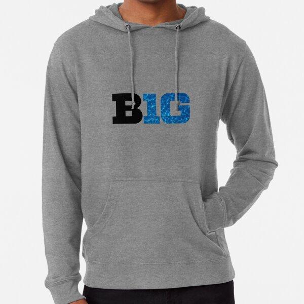 BIG TEN Conference Dark Logo Lightweight Hoodie