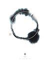 Circle n° 2 (Monochrome Version) by Thoth Adan