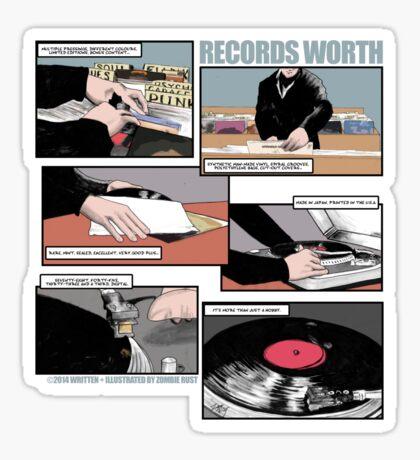 Records Worth Sticker