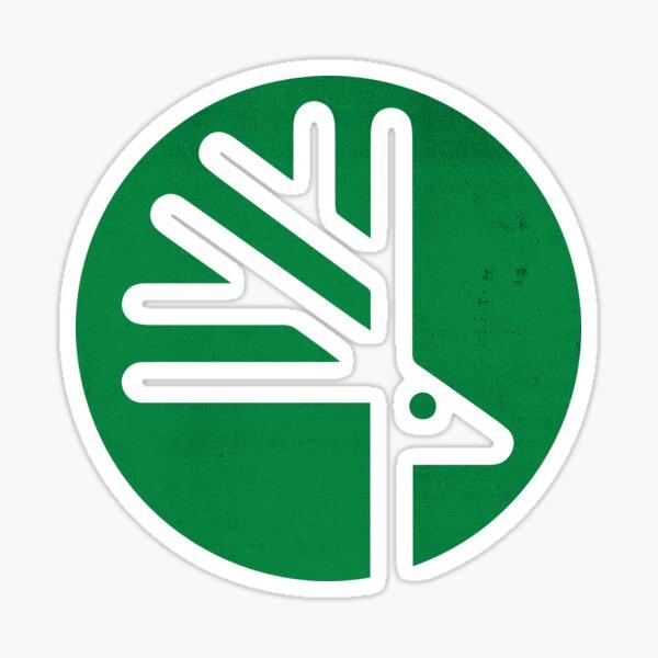 Retro Toronto Zoo Logo Beige Sticker