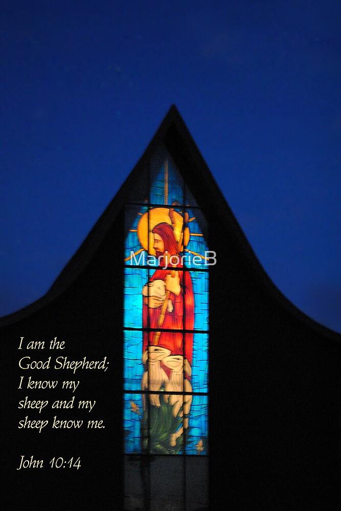 Shepherd of the Hill (card) by MarjorieB