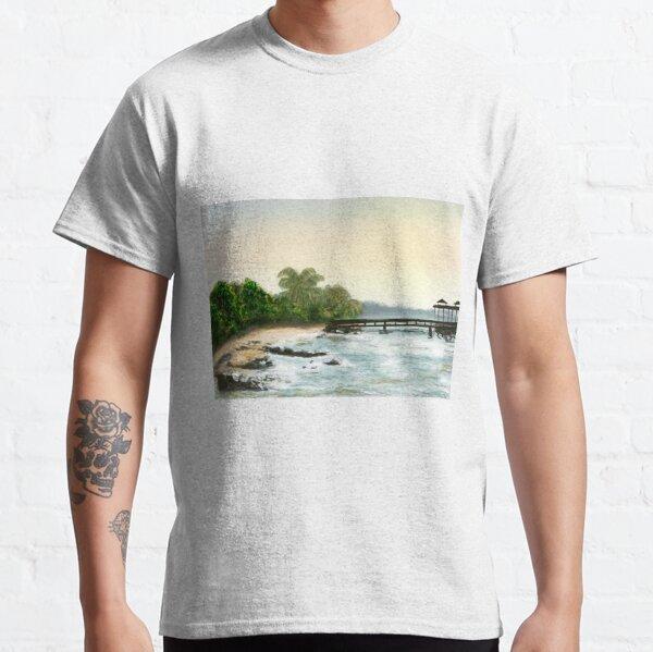 A tropical bay Classic T-Shirt