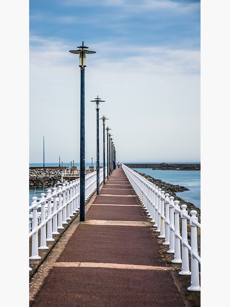 Lampposts in a row, Jersey by tdphotogifts