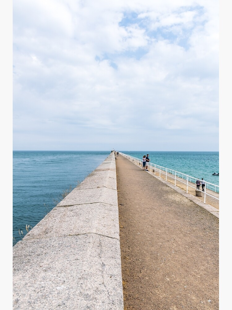 St. Catherine's Breakwater, Jersey by tdphotogifts