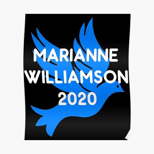 Marianne Williamson For President 2020 Poster