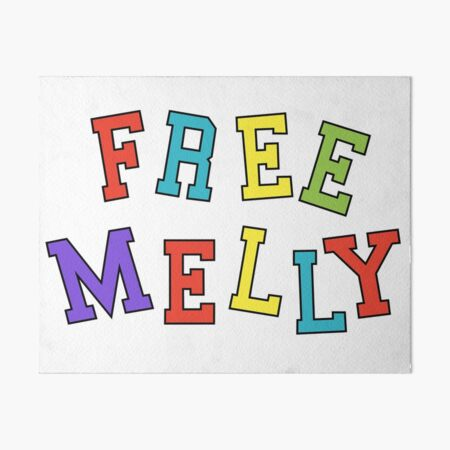 Free Melly  Art Board Print