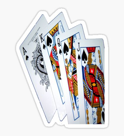 Pick a card Sticker