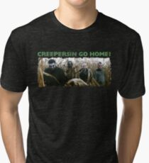 Creepersin Go Home Corn Field  Tri-blend T-Shirt