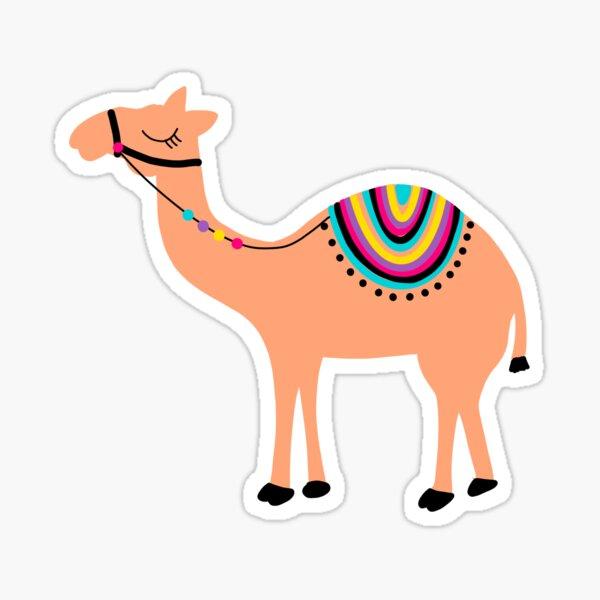 Fiesta camel Pegatina
