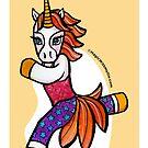 Animals of Inspiration: Rock Climbing Unicorn by mellierosetest