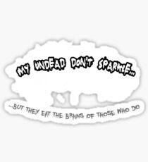 My Undead Sticker