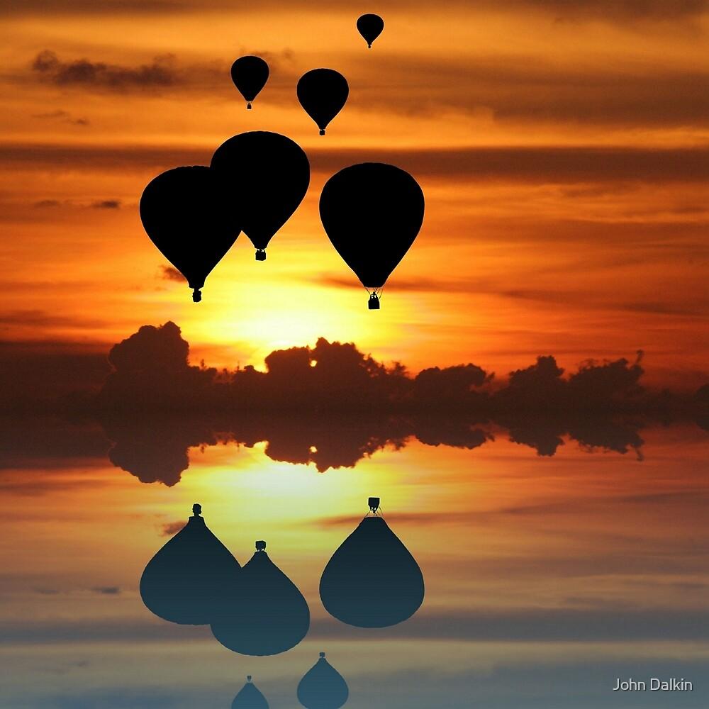 Escape at sunset by John Dalkin