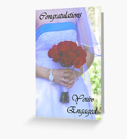 Engagement Card Greeting Card