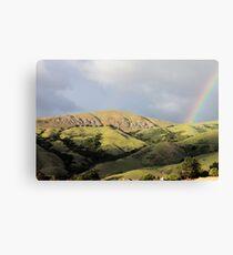 Rainbow over Mission Peak Canvas Print