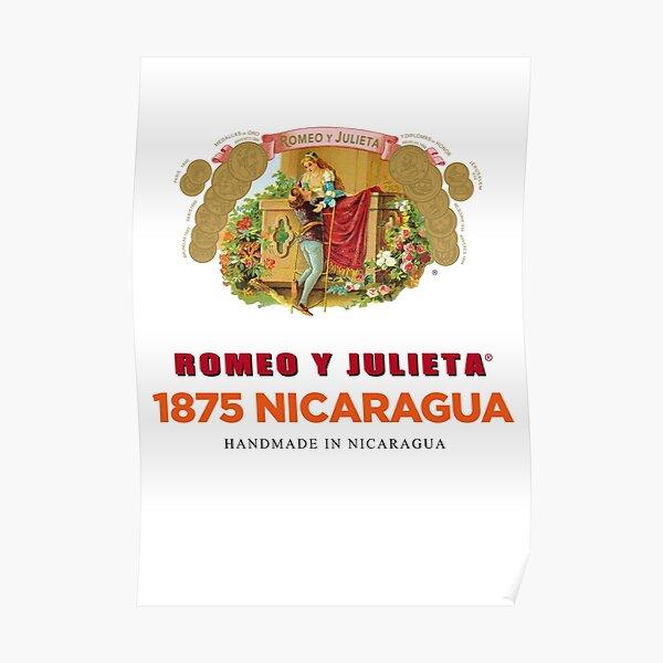 Pop Art - cigar - Romeo y Julieta 1875 Nicaragua Poster