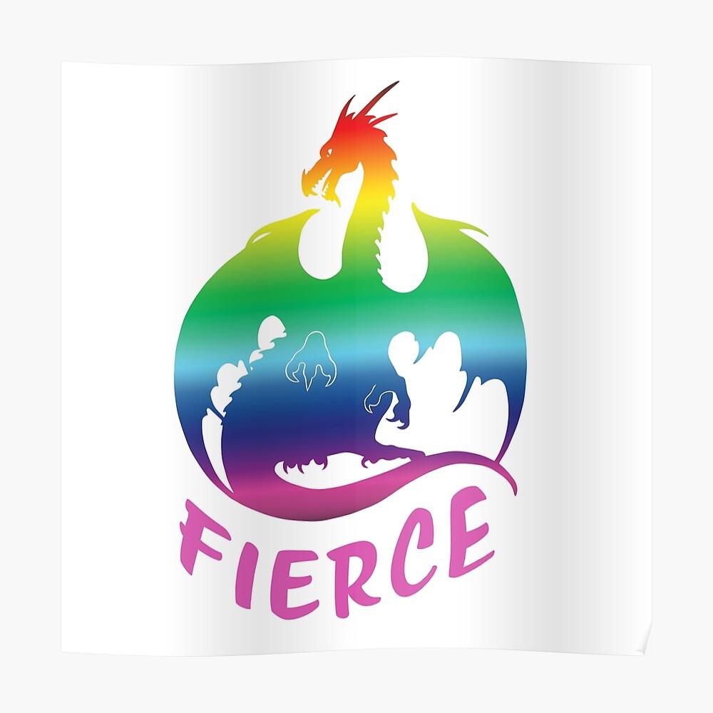 Fierce AF Poster