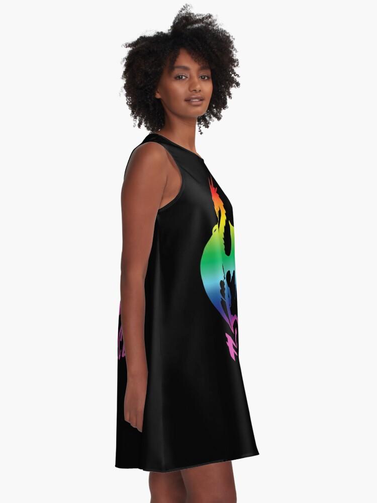 Alternate view of Fierce AF A-Line Dress