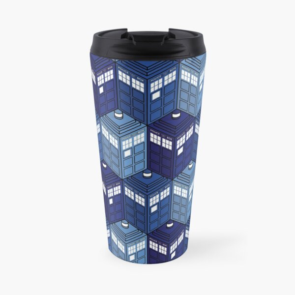 Infinite Phone Boxes Travel Mug