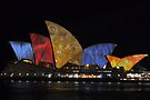Hairy Sails of the Opera House by Jen Waltmon