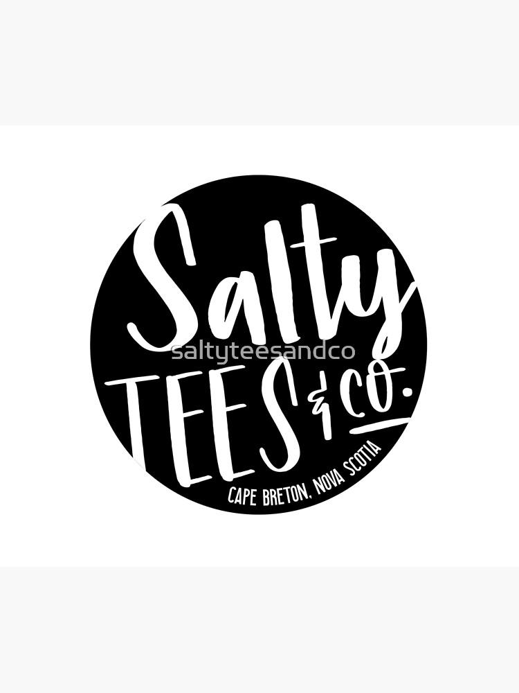 Salzige T-Stücke u. Co.-Logo von saltyteesandco