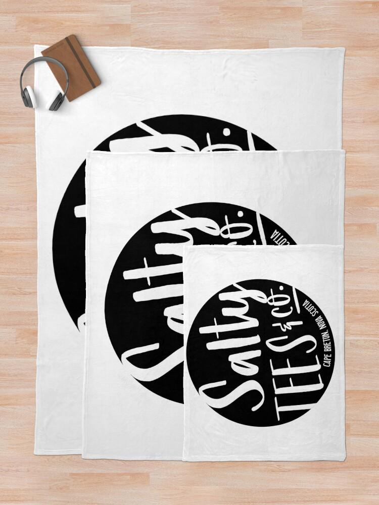 Alternative Ansicht von Salzige T-Stücke u. Co.-Logo Fleecedecke