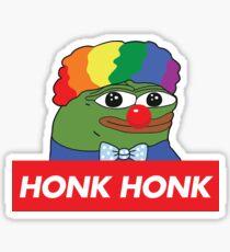 Honk Honk Pepe Honkler Pepe Sticker