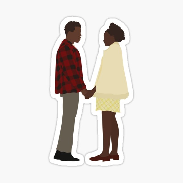Fonny and Tish (If Beale Street Could Talk) Sticker