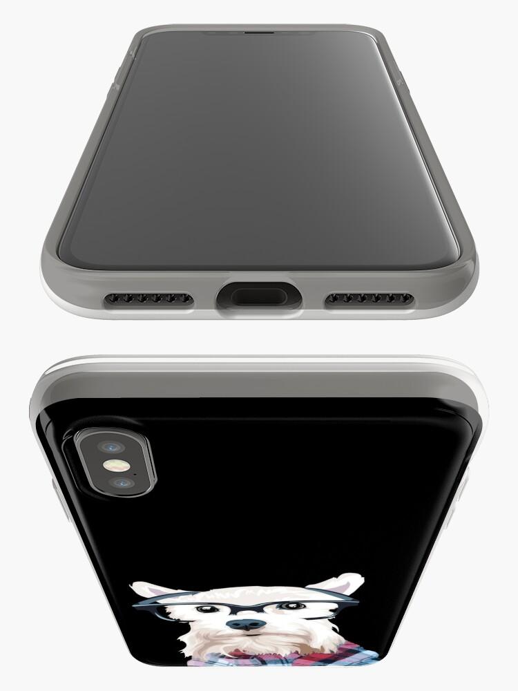 Alternate view of Dapper Dog  iPhone Case & Cover