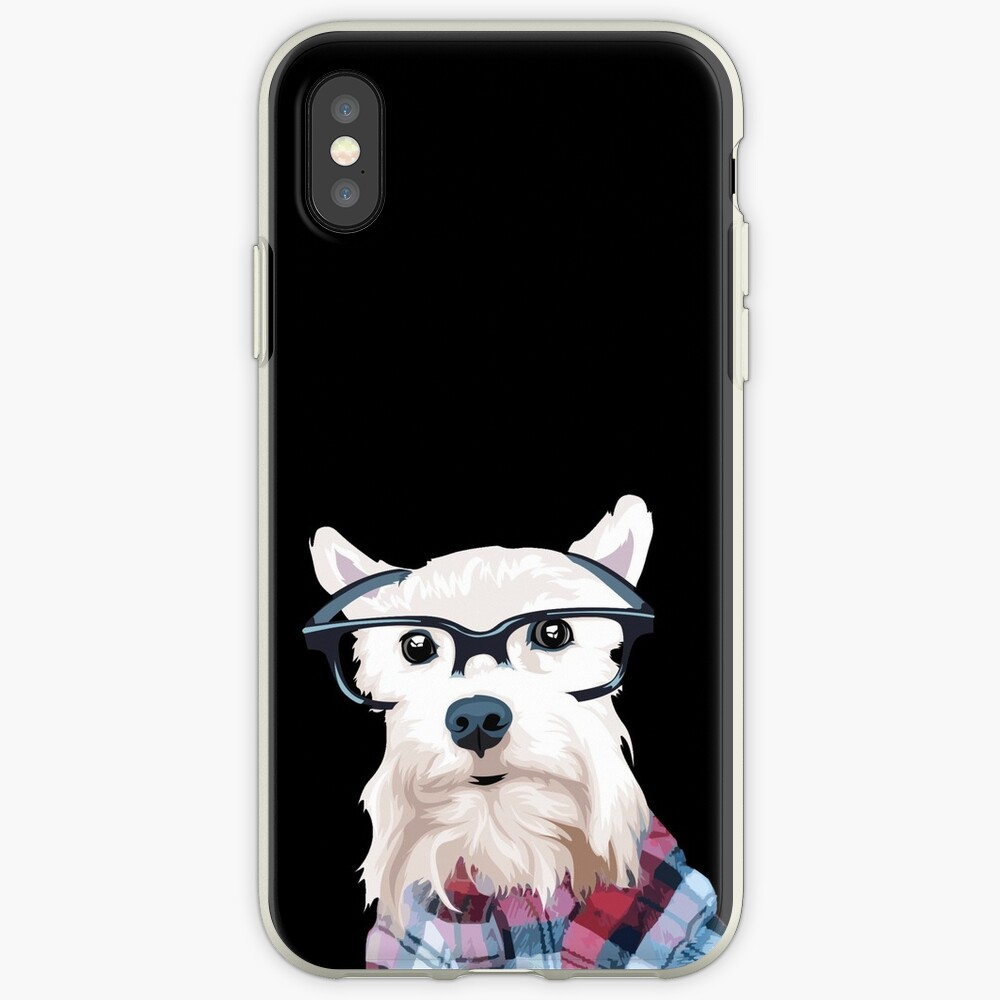 Dapper Dog  iPhone Case & Cover