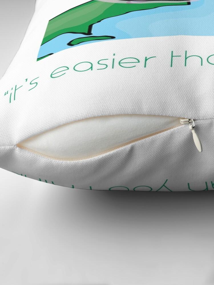 Alternate view of Easy Vegan Throw Pillow