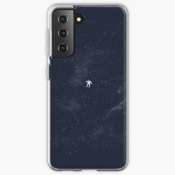 Gravity - Dark Blue Samsung Galaxy Soft Case