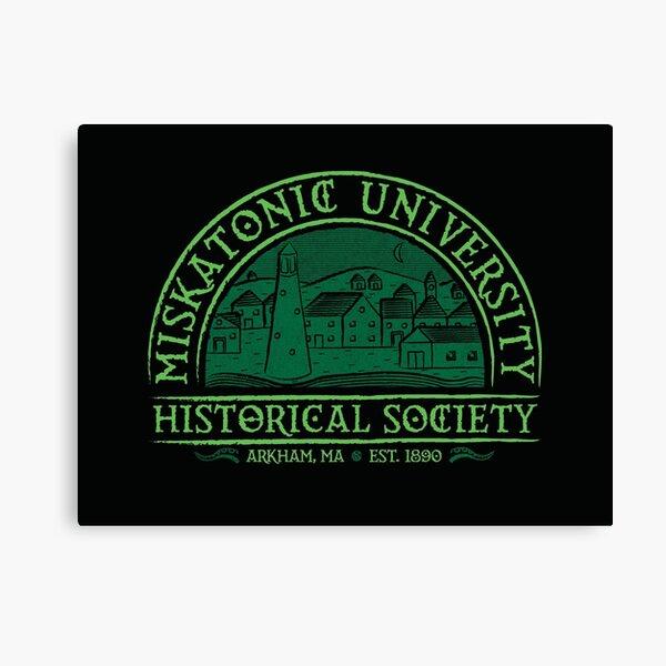 Sociedad histórica de Miskatonic Lienzo