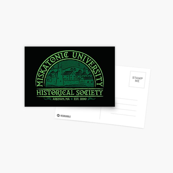 Miskatonic Historical Society Postcard