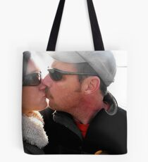 Kiss Me Goodbye Tote Bag