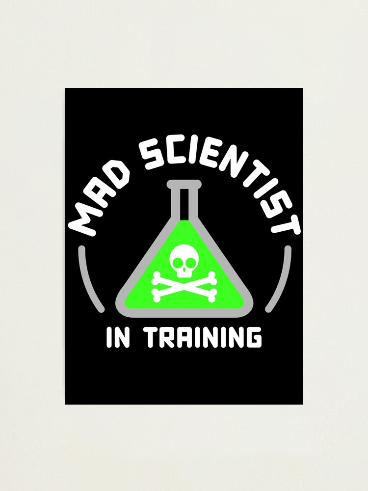 Alternate view of Mad Scientist in Training Photographic Print