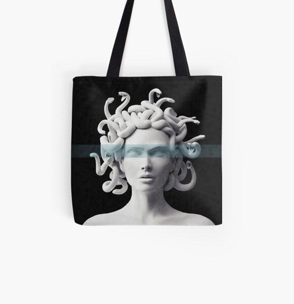 Medusa All Over Print Tote Bag